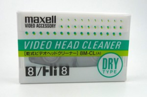 Maxell Head Cleaner 8M-CLa